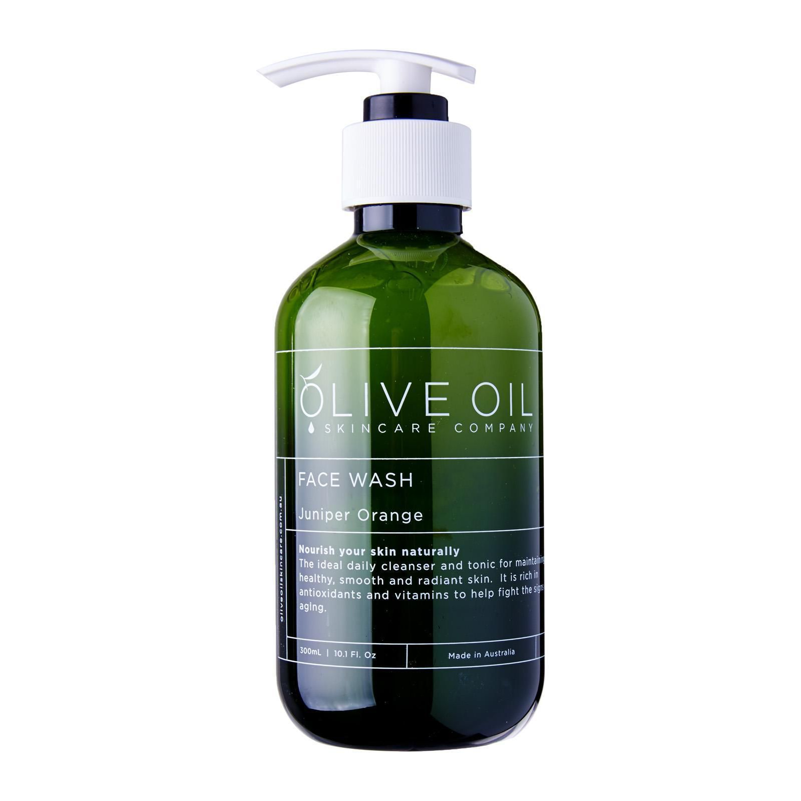 Olive Oil Skincare Company Face Wash