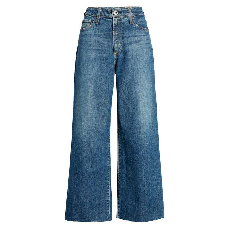 Etta Crop Wide Leg Jeans