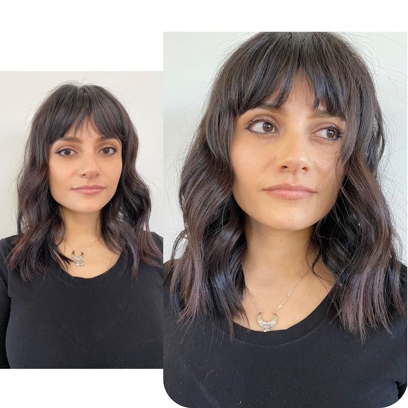 Hand-Tied Hair Extensions Short