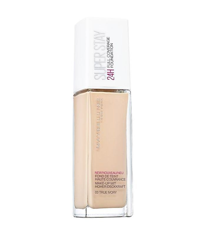 best drugstore foundation for pale skin: Maybelline Superstay 24h Foundation