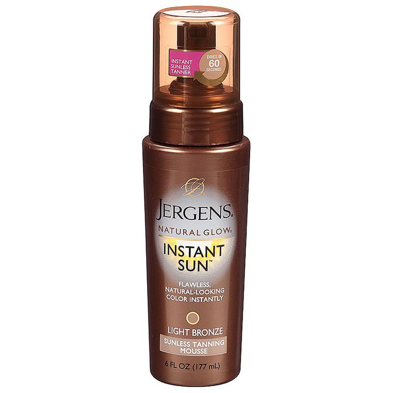 Natural Glow Instant Sun Tanning Mousse