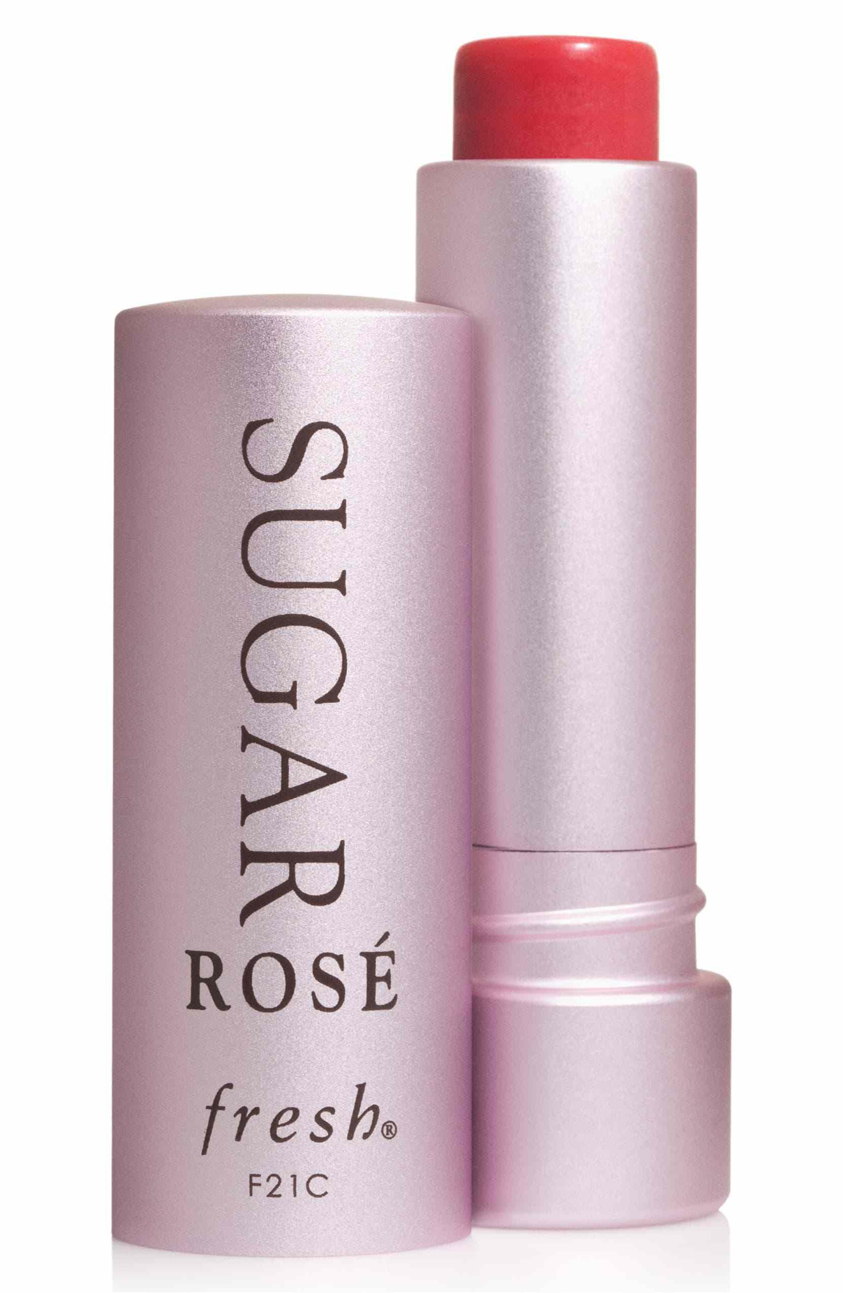 Sugar Lip Treatment Sunscreen SPF 15 in Sugar Rosé Tinted