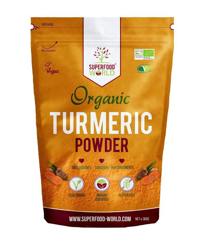 Superfood World Organic Turmeric Root Powder