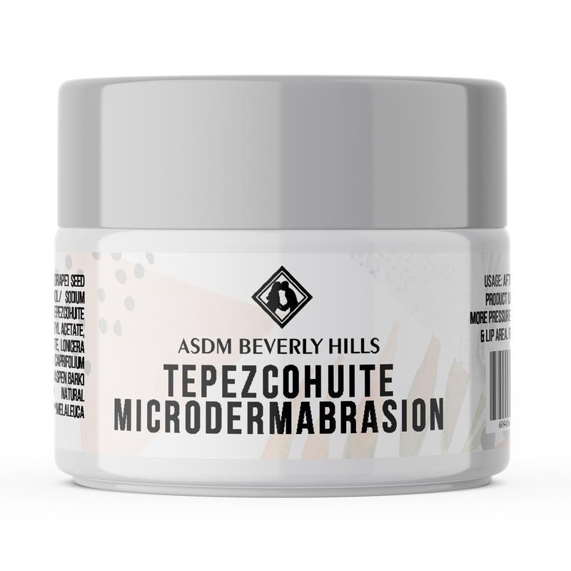 ASDM Tepezcohuite Microdermabrasion