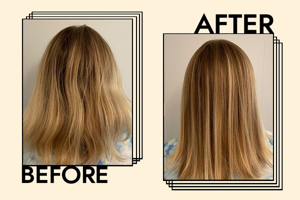 Living Proof Perfect Hair Day 5-in-1 Styling Treatment Results on Melony Forcier