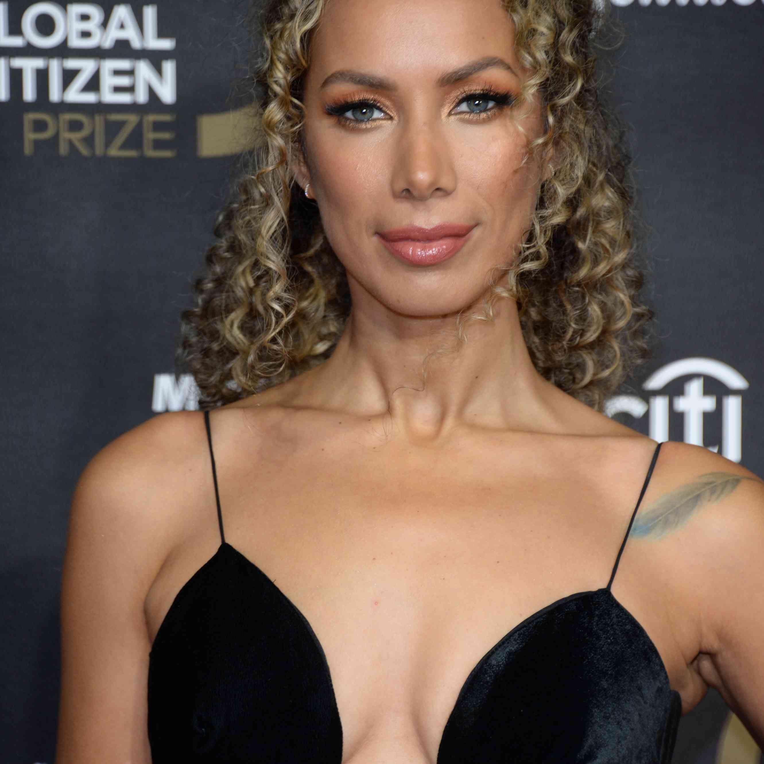 Leona Lewis at the Global Citizen Prize Red Carpet Arrivals