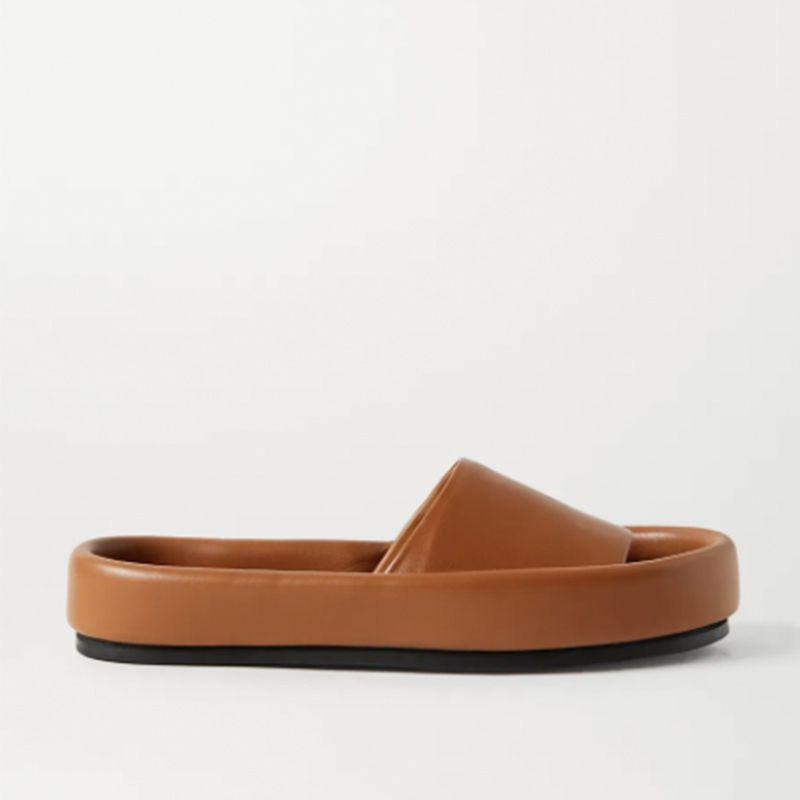Venice Leather Slides