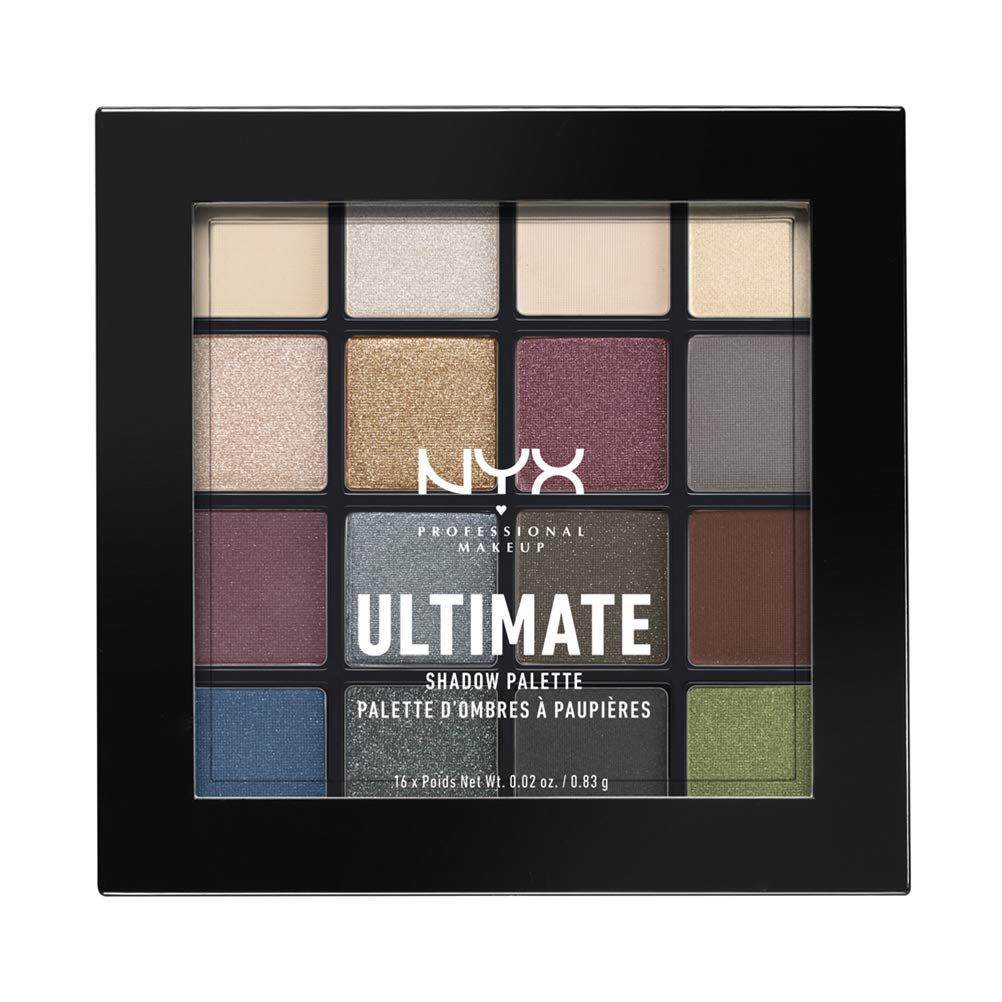 NYX Professional Makeup Ultimate Shadow Palette Smokey and Highlight