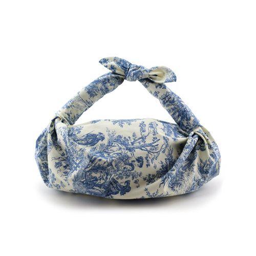 Fall Handbag Shapes NST Toile de Jouy Knot Bag