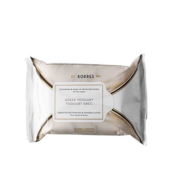 Greek Yoghurt Cleansing & Make-Up Removing Wipes for All Skin Types 25 Wipes