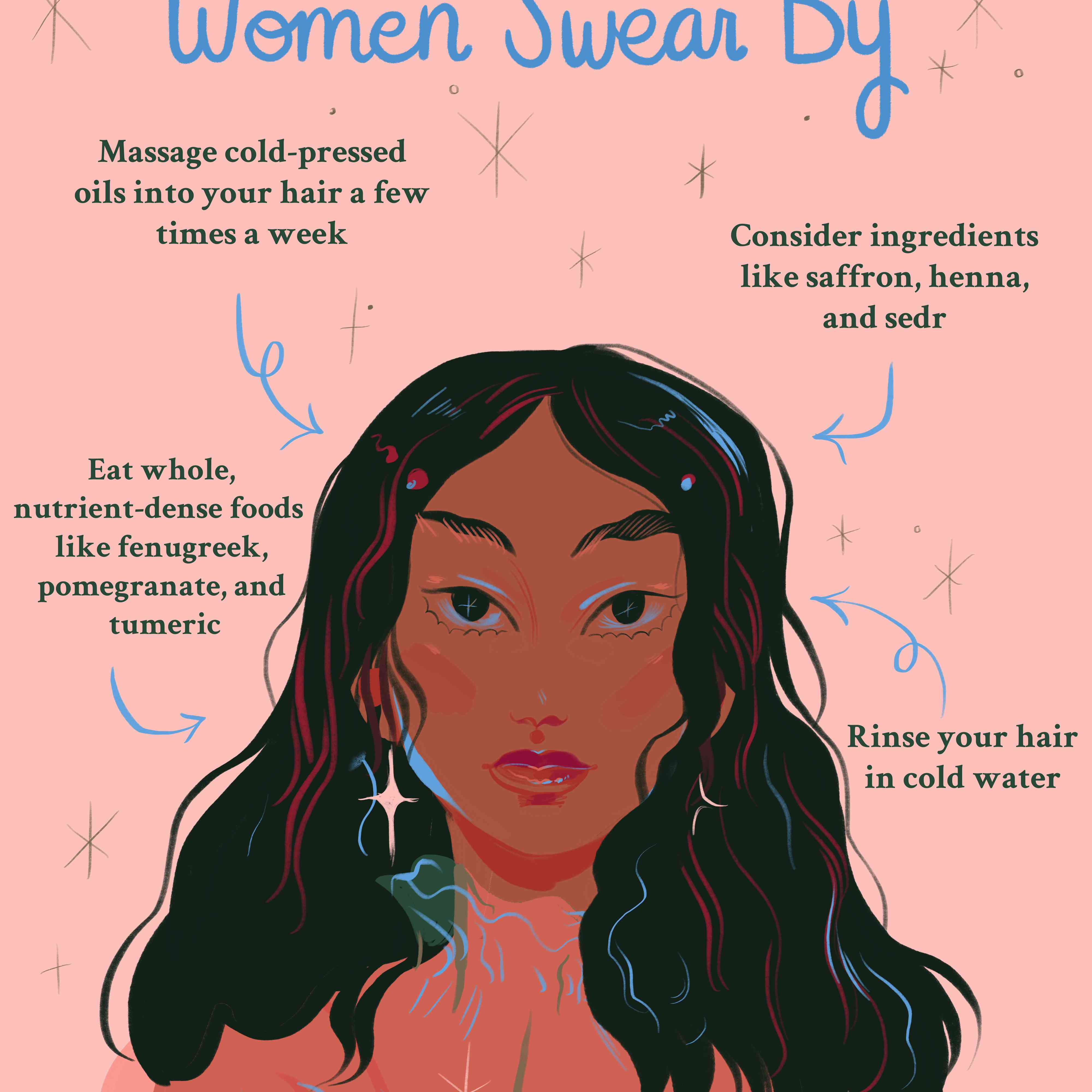 10 Hair Secrets Indian and Middle Eastern Women Swear By
