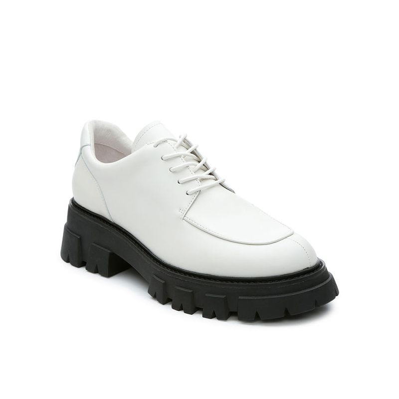 Leather Lace-Up Shoes