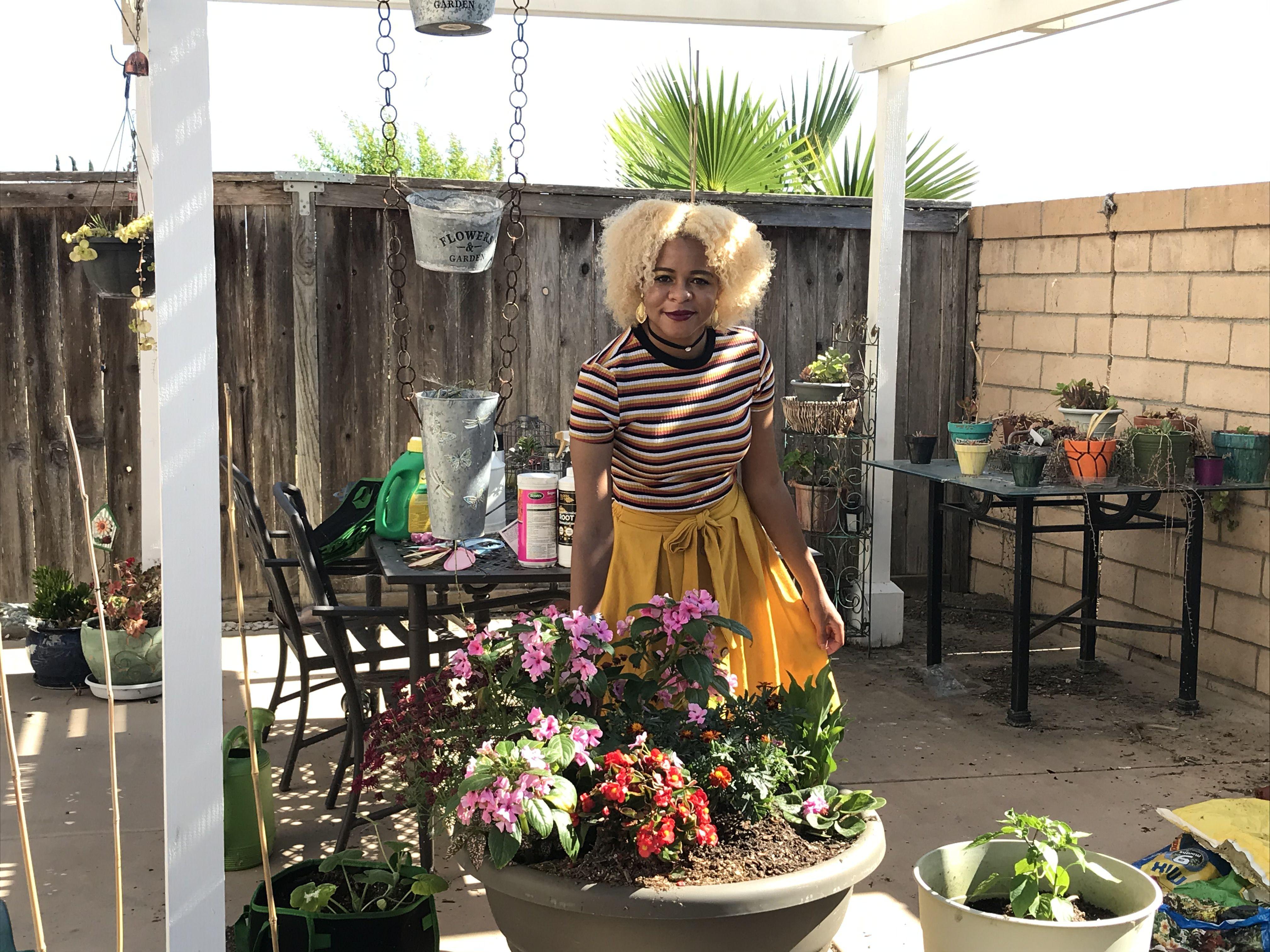 The Healing Magic of a Black Woman Gardening