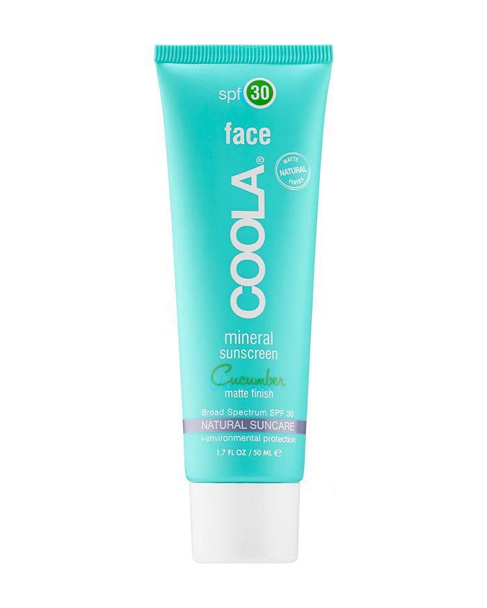 Coola Mineral Face SPF 30 in Cucumber Matte