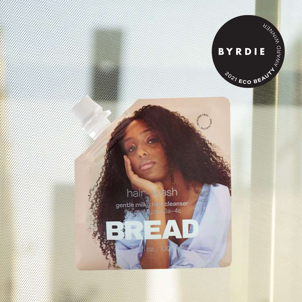 bread hair wash