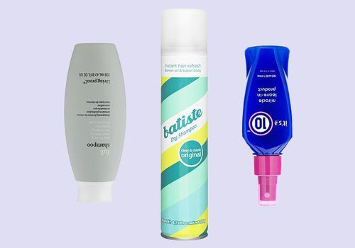 products on a background