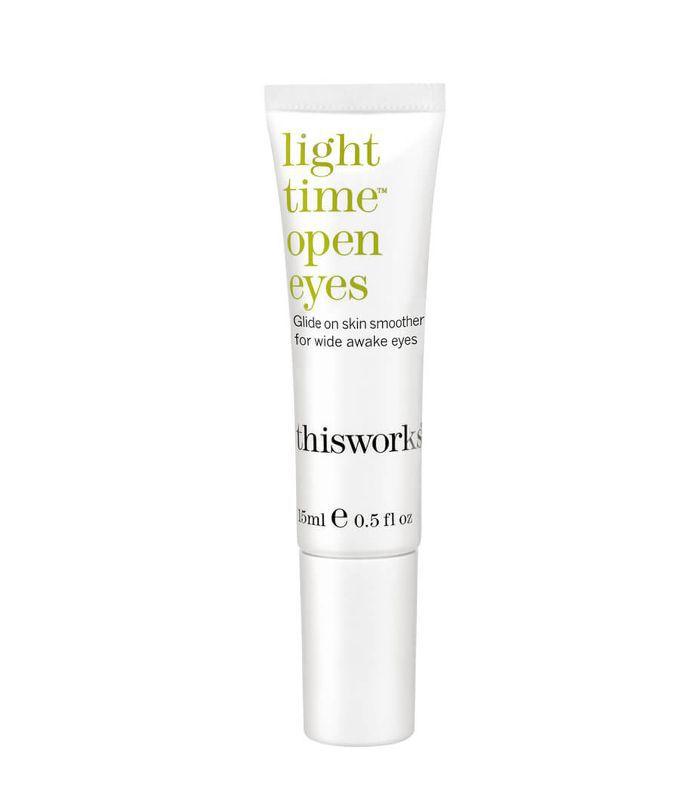 best eye cream for dark circles: This Works Light Time Open Eyes
