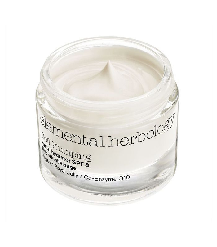 Best moisturiser for dry skin: Elemental Herbology Cell Plumping Facial Hydrator SPF 8 50ml