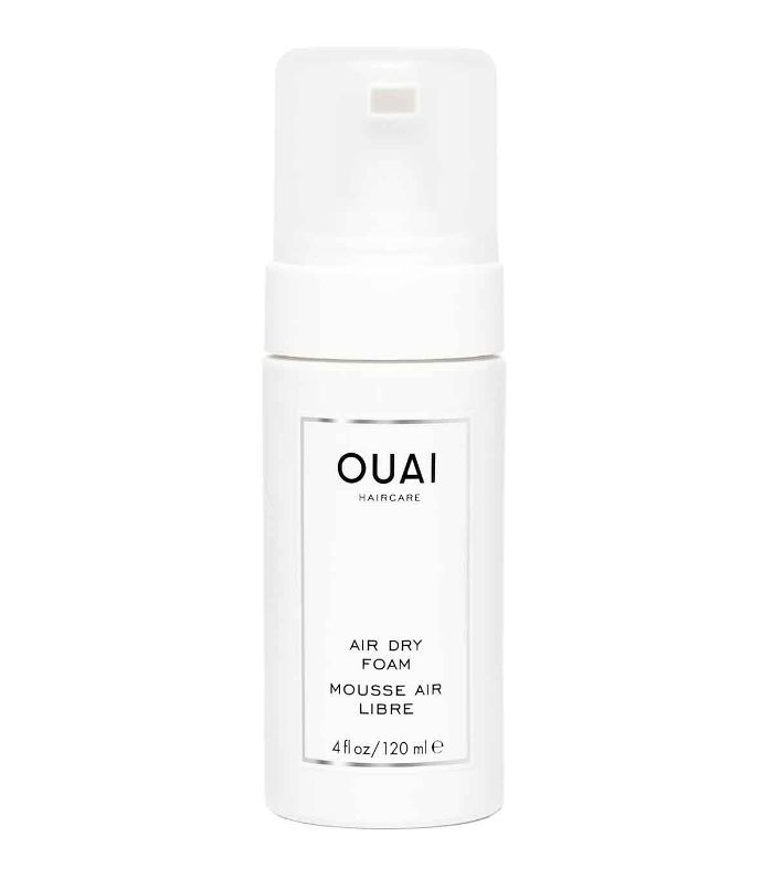 a/w haircut trends: OUAI Air Dry Foam