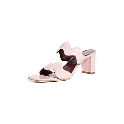 Frankie Wavy Sandals ($295)