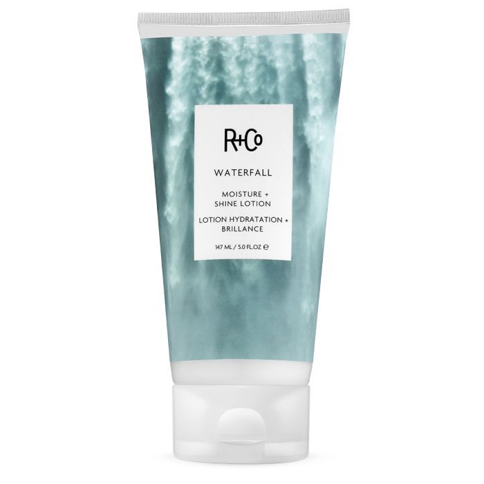 Skinification of Hair: R+Co Waterfall Moisture + Shine Lotion