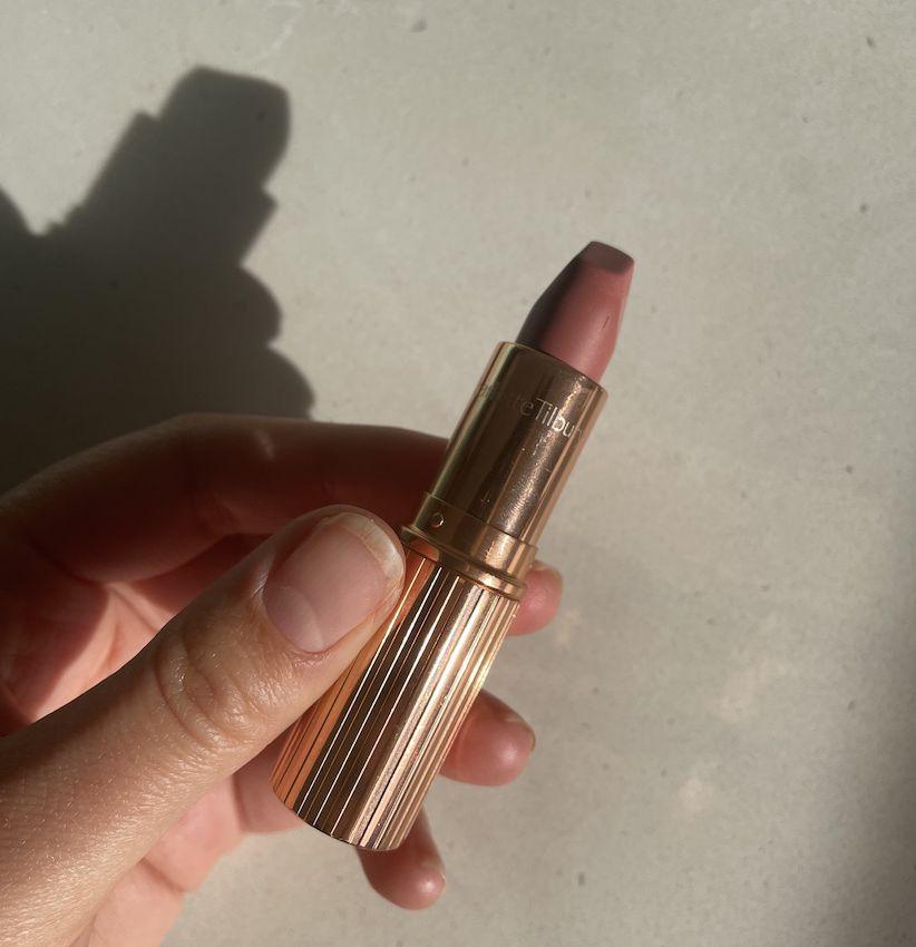 Charlotte Tilbury's Matte Revolution Lipstick in Walk of No Shame