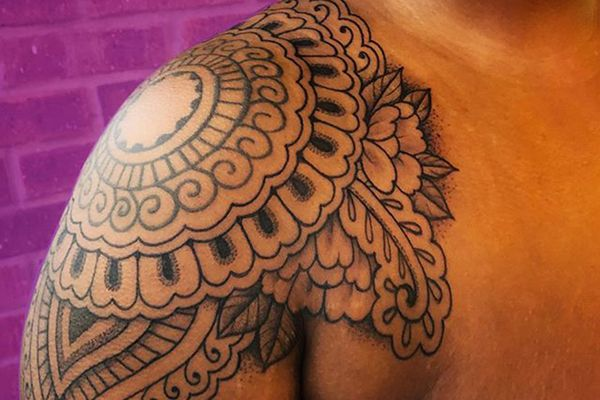 tattoos on dark skin tones