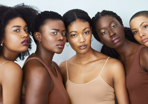 Black women beauty brands work with melanin skin in mind.