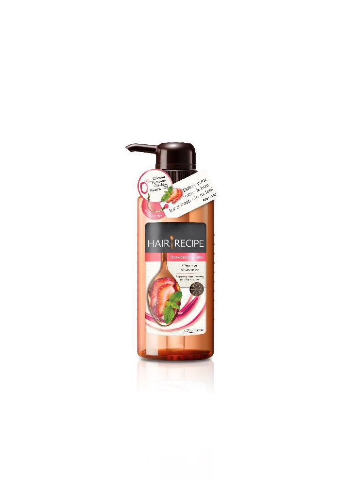 Hair Recipe Strawberry & Mint Root Cleanse Shampoo