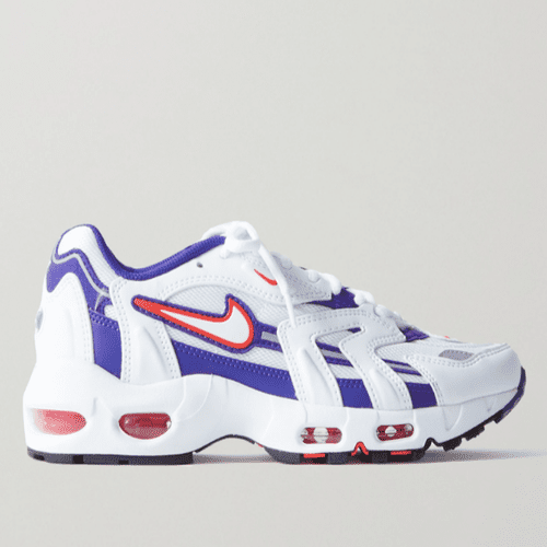 Nike Air Max 96 II Mesh, Leather And Suede Sneakers