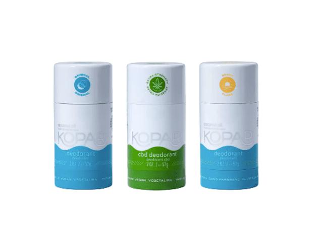 Kopari Full Size Coconut Deodorant Set
