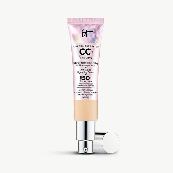 best beauty products 2018: It Cosmetics Your Skin But Better CC+ Illumination SPF 50+ Cream