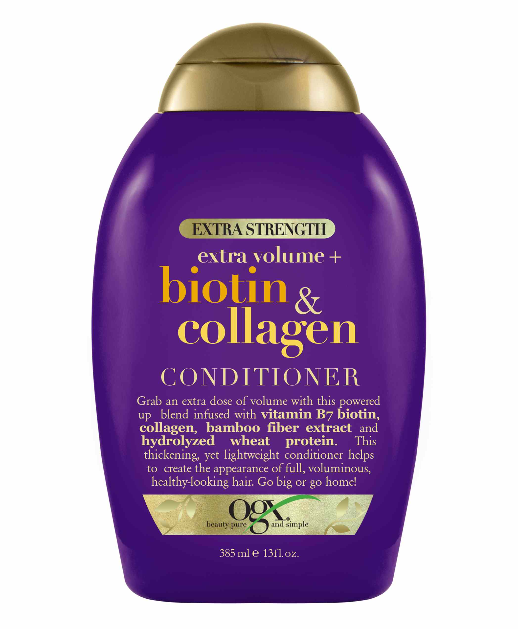 OGX Extra Strength Extra Volume + Biotin & Collagen Conditioner