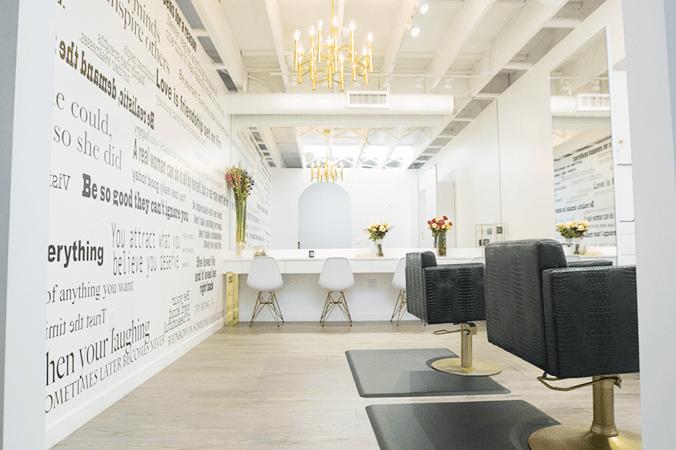 Nine Zero One salon interior