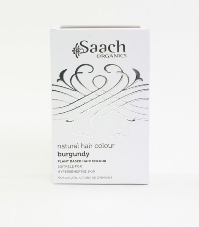 natural hair dye: Saach Organics