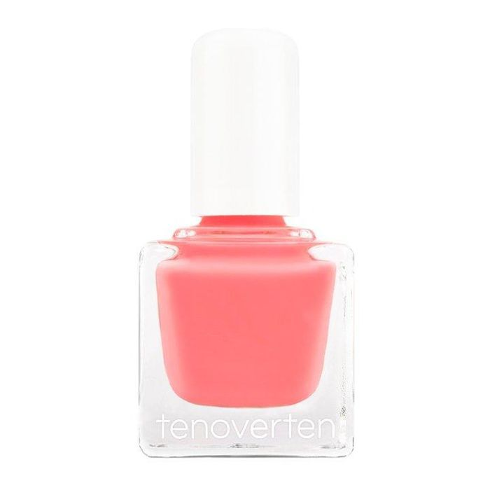 Tenoverten Nail Polish in Pink Salmon