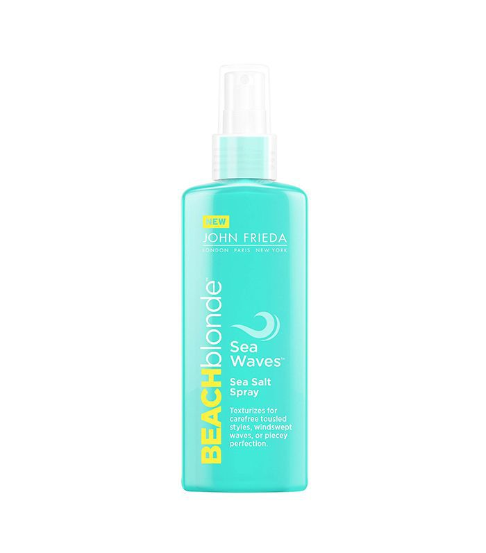 Beach Blonde Sea Waves Sea Salt Spray