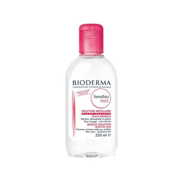 Emma Horeau travel beauty essentials: Bioderma Sensibio H2O Micellar Water