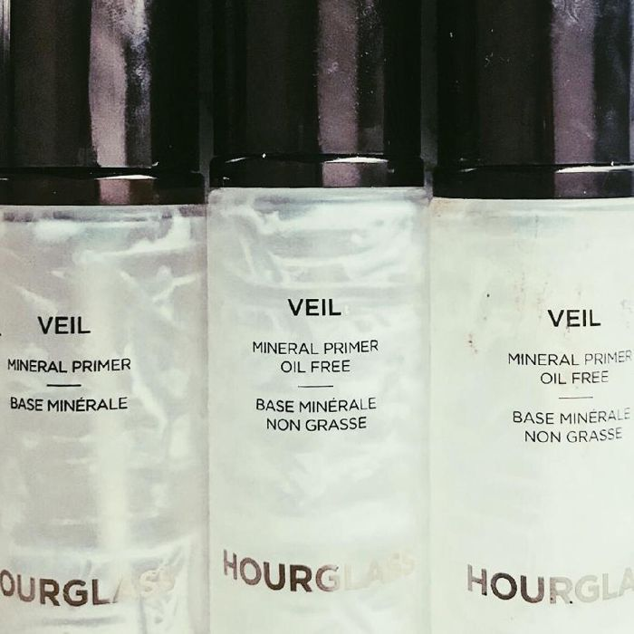 Hourglass Mineral Veil Primer Review: Empty Bottles of Mineral Veil Primer
