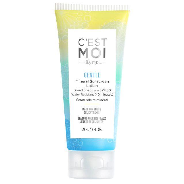 C'est Moi Gentle Mineral Sunscreen Lotion