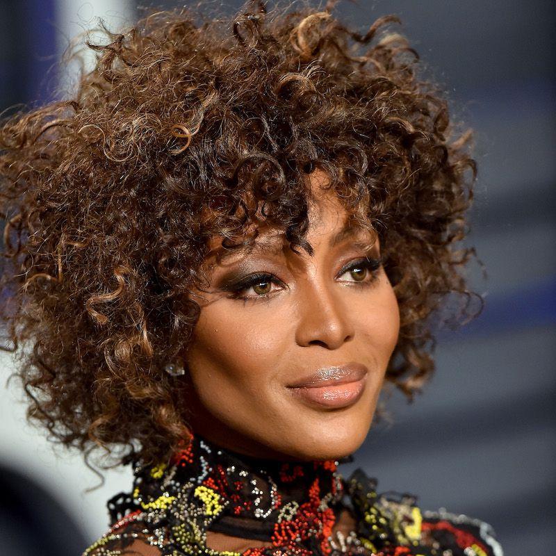 Brown Ombré Hair Naomi Campbell