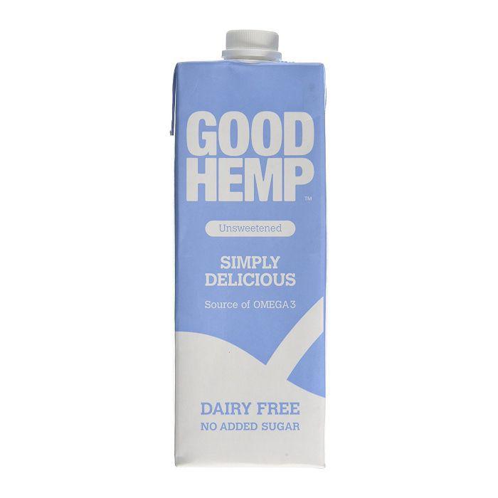 Good Hemp Unsweetened Hemp Drink 1L (Pack of 6)