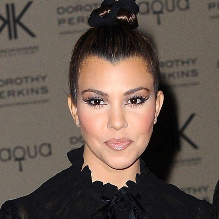 Kourtney Kardashian hairstyles