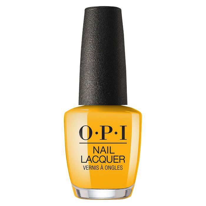OPI Nail Lacquer review: OPI Nail Lacquer in Sun, Sea and Sand in my Pants