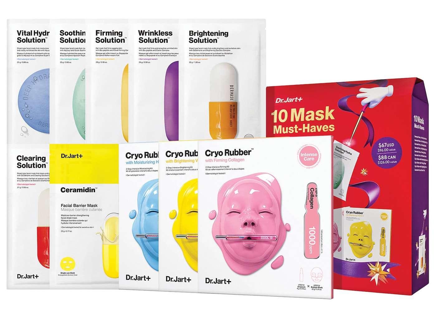 Dr. Jart+ 10 Mask Must-Haves
