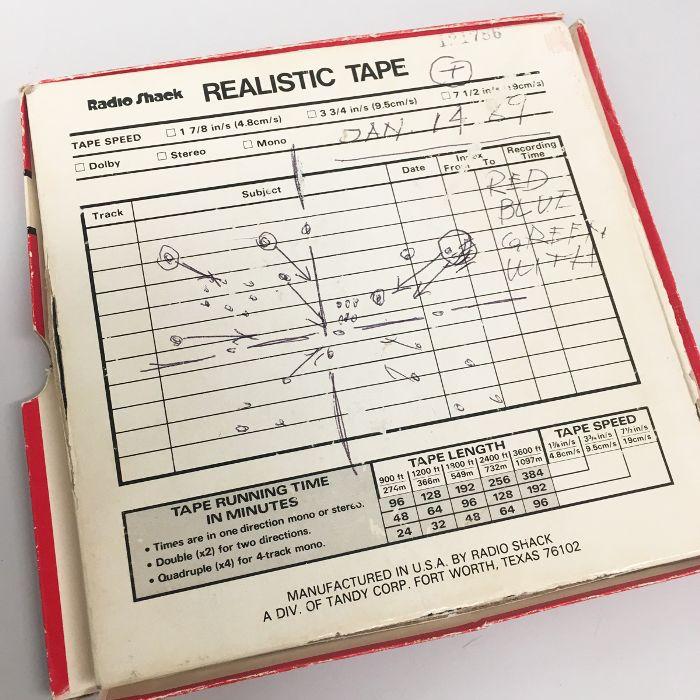 creme de la mer: Recording Played During the Fermentation