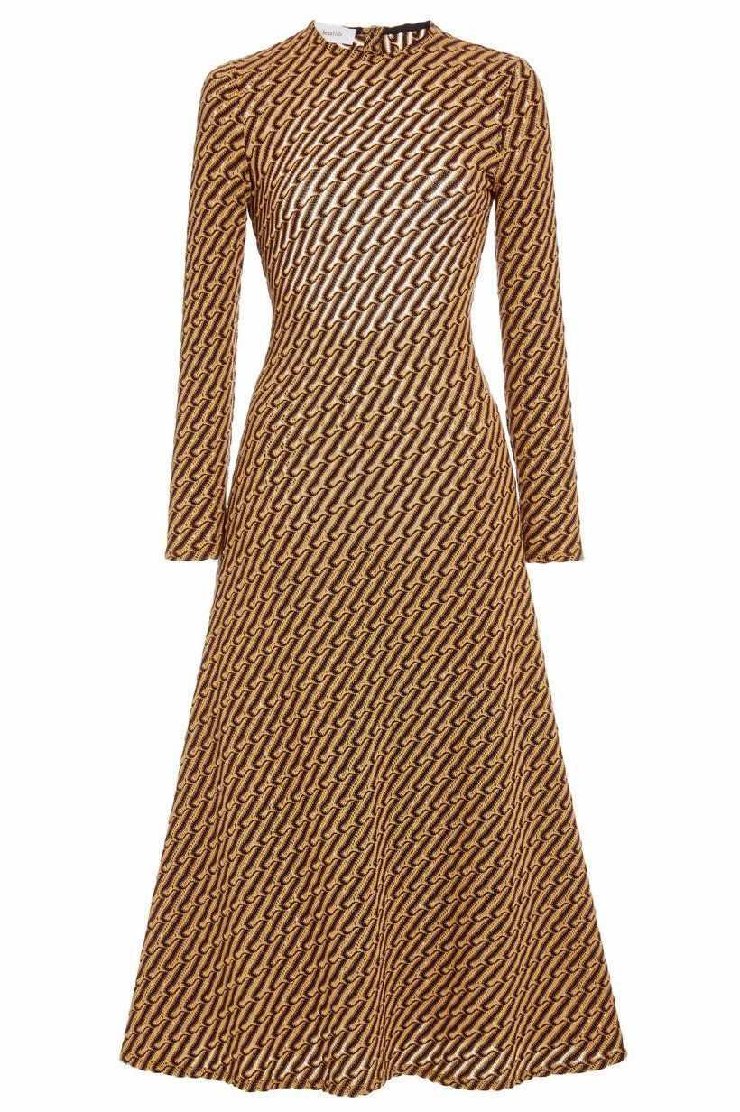 Beaufille Kubin Jacquard-Knit Dress