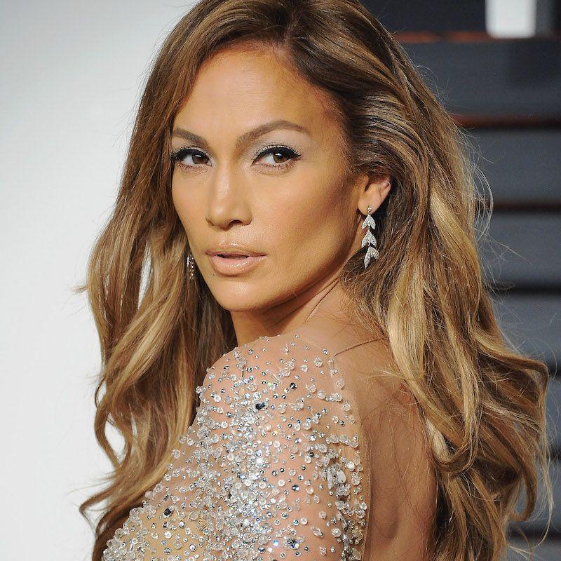 Brown Hair Color Jennifer Lopez