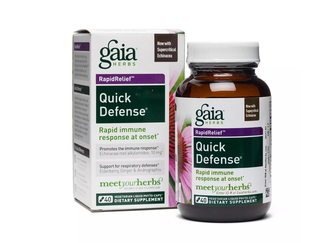 Gaia Herbs Quick Defense
