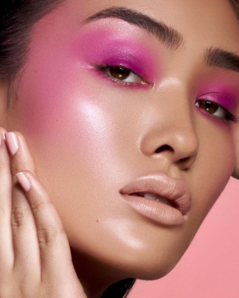 Pink monochrome by Danessa Myricks